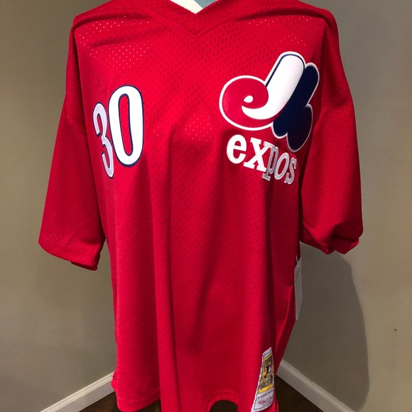 half off 2d913 33b99 Mitchell & Ness Tim Raines Montreal Expos Jersey NWT